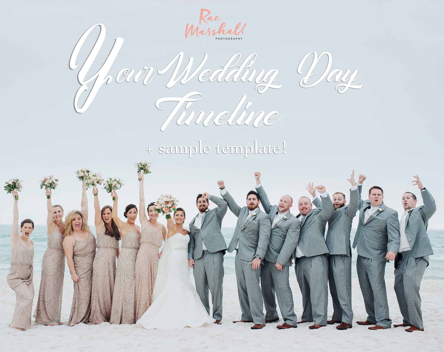 Wedding Day Timeline Sample Template! - Hawaii Wedding Photographer