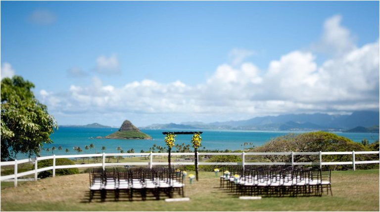 Kualoa Ranch Oahu Wedding
