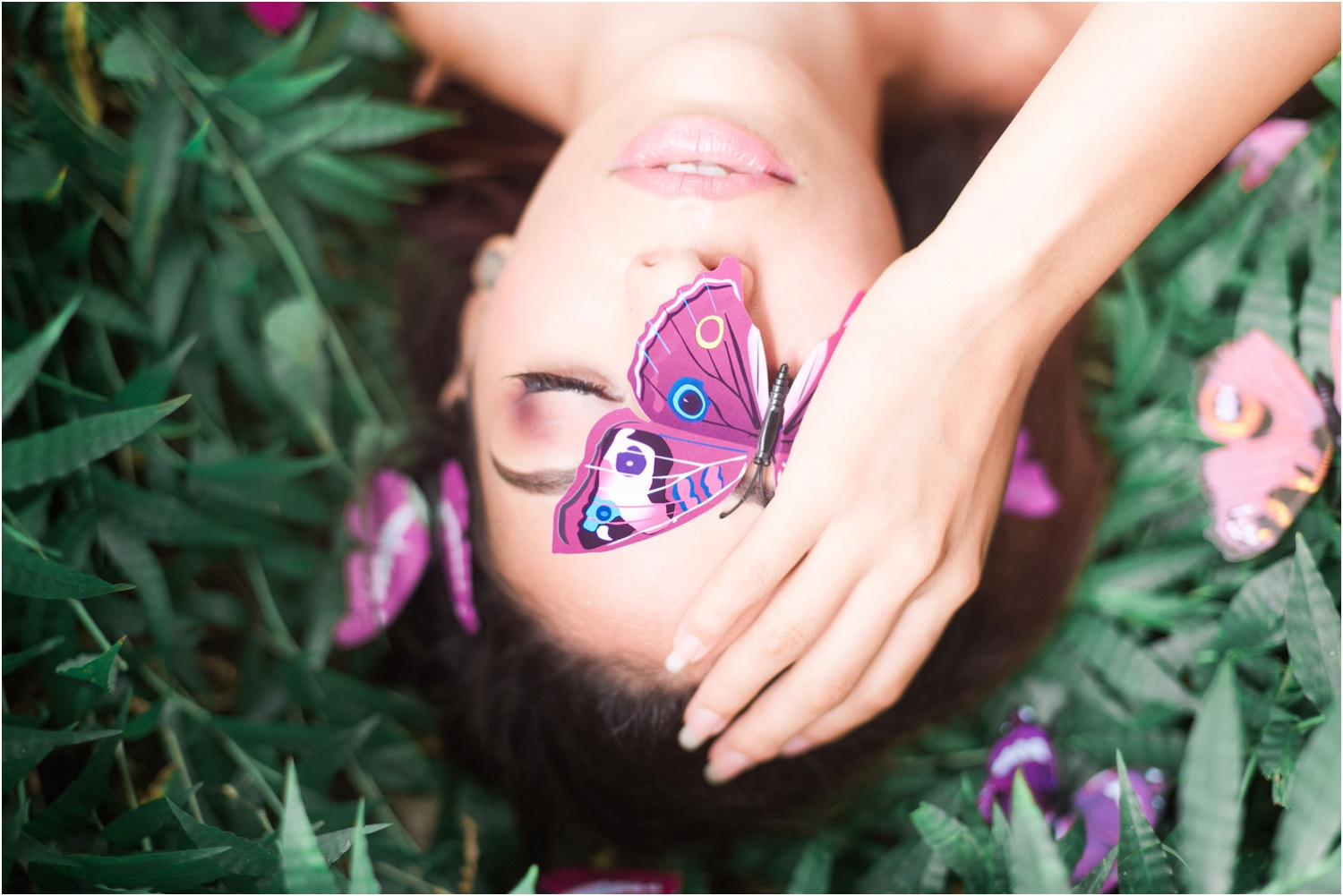 Oahu Fashion Photographer - The Butterfly Effect