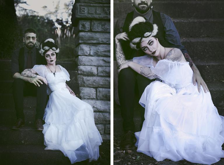 Halloween Creature Series Bride Of Frankenstein Rae Marshall